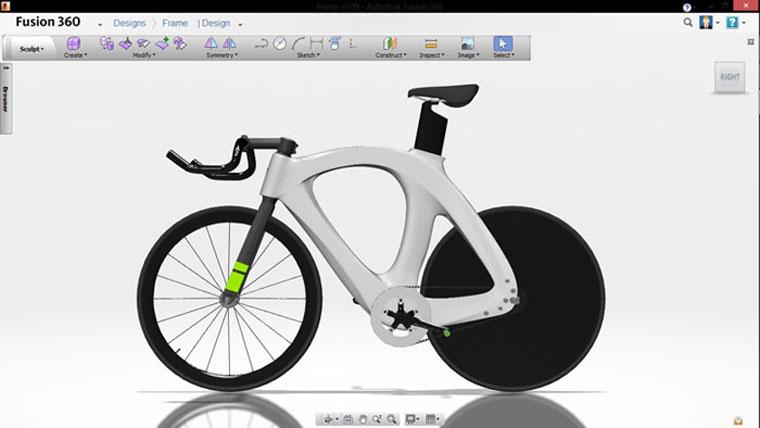 Fusion 360 Bike